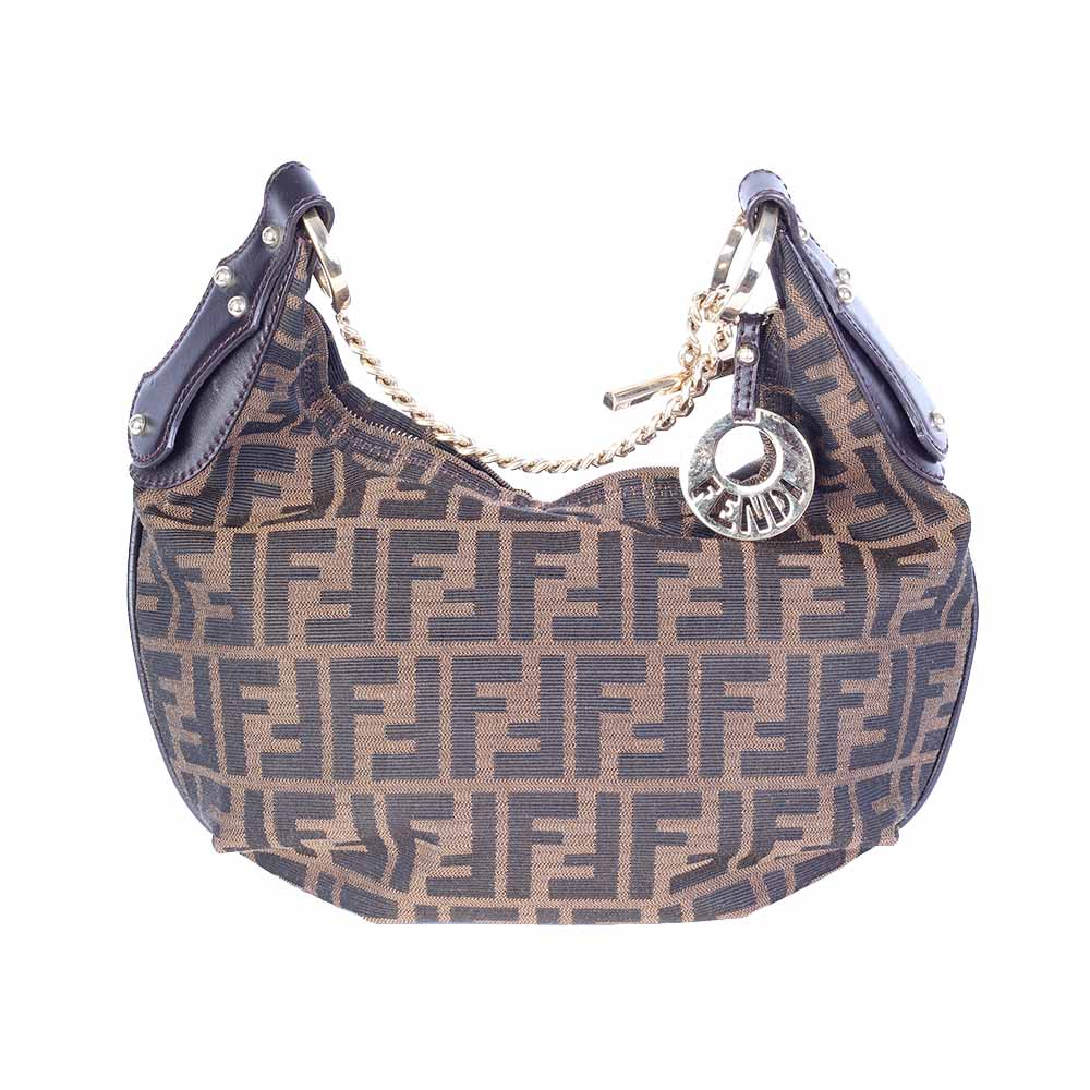 136597672d8e ... uk fendi zucca hobo shoulder bag 762ad 2bfc5