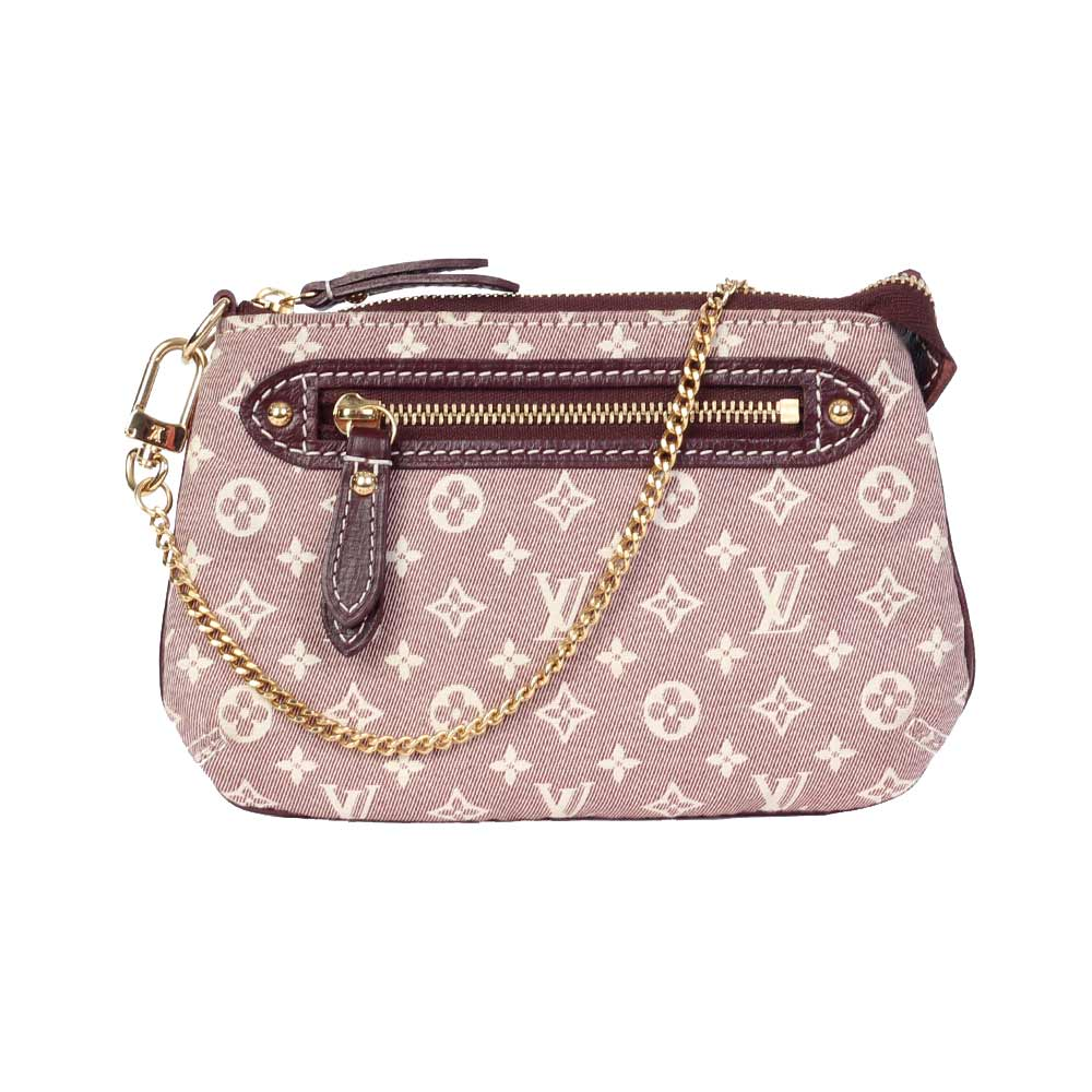 3644dfb2049d LOUIS VUITTON Monogram Idylle Mini Pochette Accessories, Sepia   Luxity