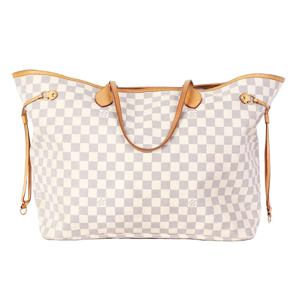 cd739c81259 LOUIS VUITTON Damier Azur Neverfull GM   Luxity