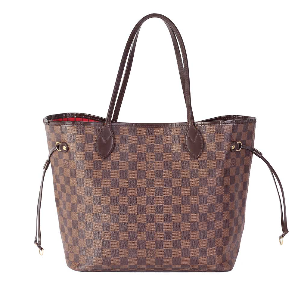 Louis Vuitton Damier Ebene Neverfull Mm Luxity