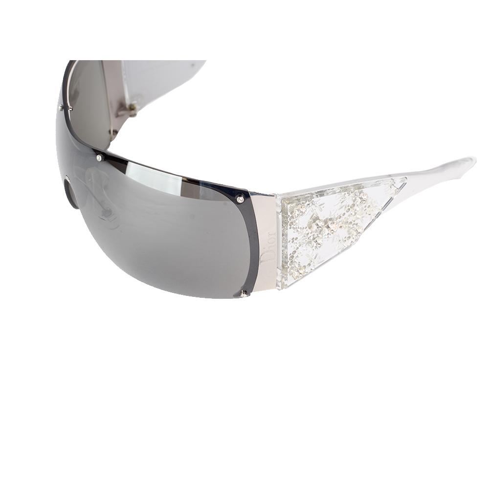 04af2ea08927 CHRISTIAN DIOR Ski oversized embellished Sunglasses, Limited Edition ...