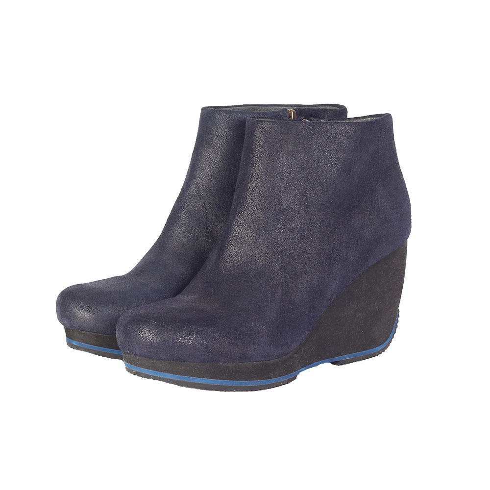 0ce4306b318 CAMPER TO   ETHER ROMAIN KREMER Leather Wedge Booties