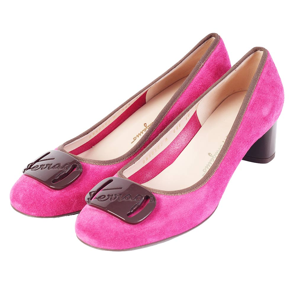 salvatore ferragamo pink shoes