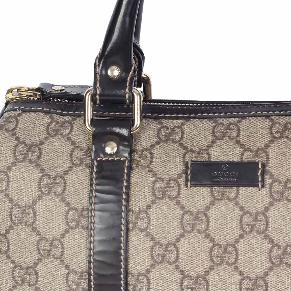 ef805946289071 GUCCI Monogram Joy Boston Bag | Luxity