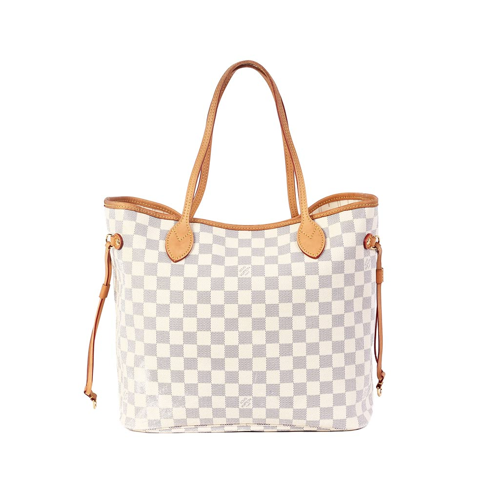 LOUIS VUITTON Damier Azur Neverfull MM | Luxity