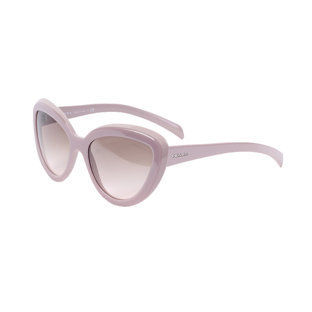 8de825524fc1 PRADA Opal Pink Cat Eye Acetate Sunglasses - NEW