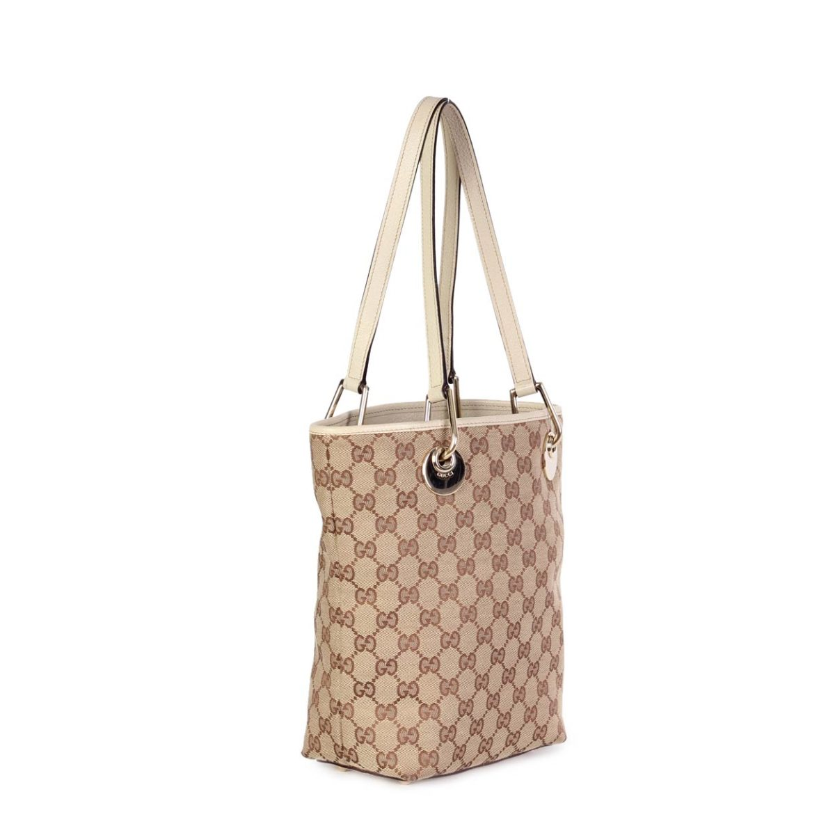 ccee3633029d GUCCI Monogram Eclipse Bucket Tote Small | Luxity