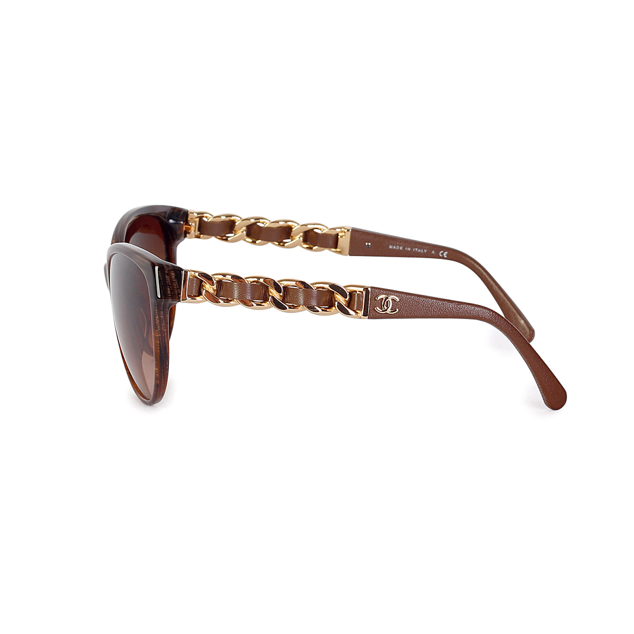New Chanel Sunglasses  chanel erfly chain sunglasses light tortoise new luxity