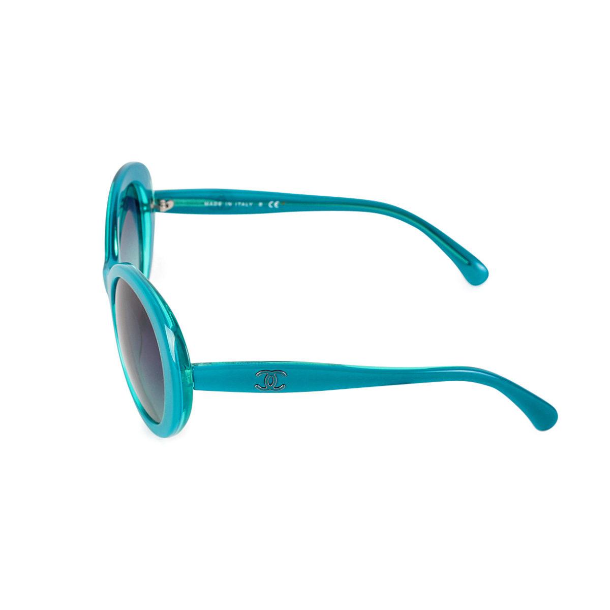 43fb6d89d5d98 CHANEL CC Sunglasses 5238 Turquoise