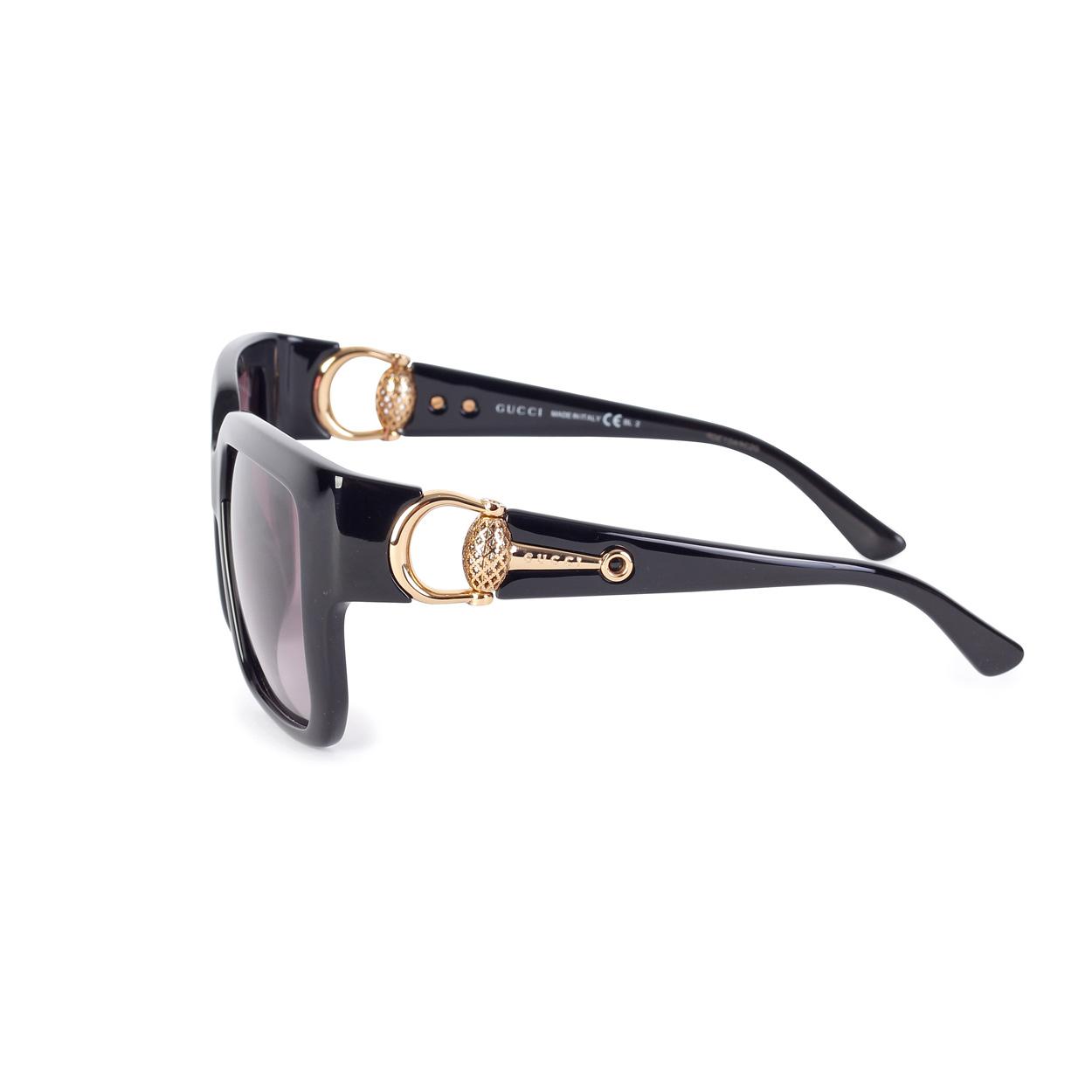 04e3ea97c20ca Oversized Round-frame Metal Glasses Gucci