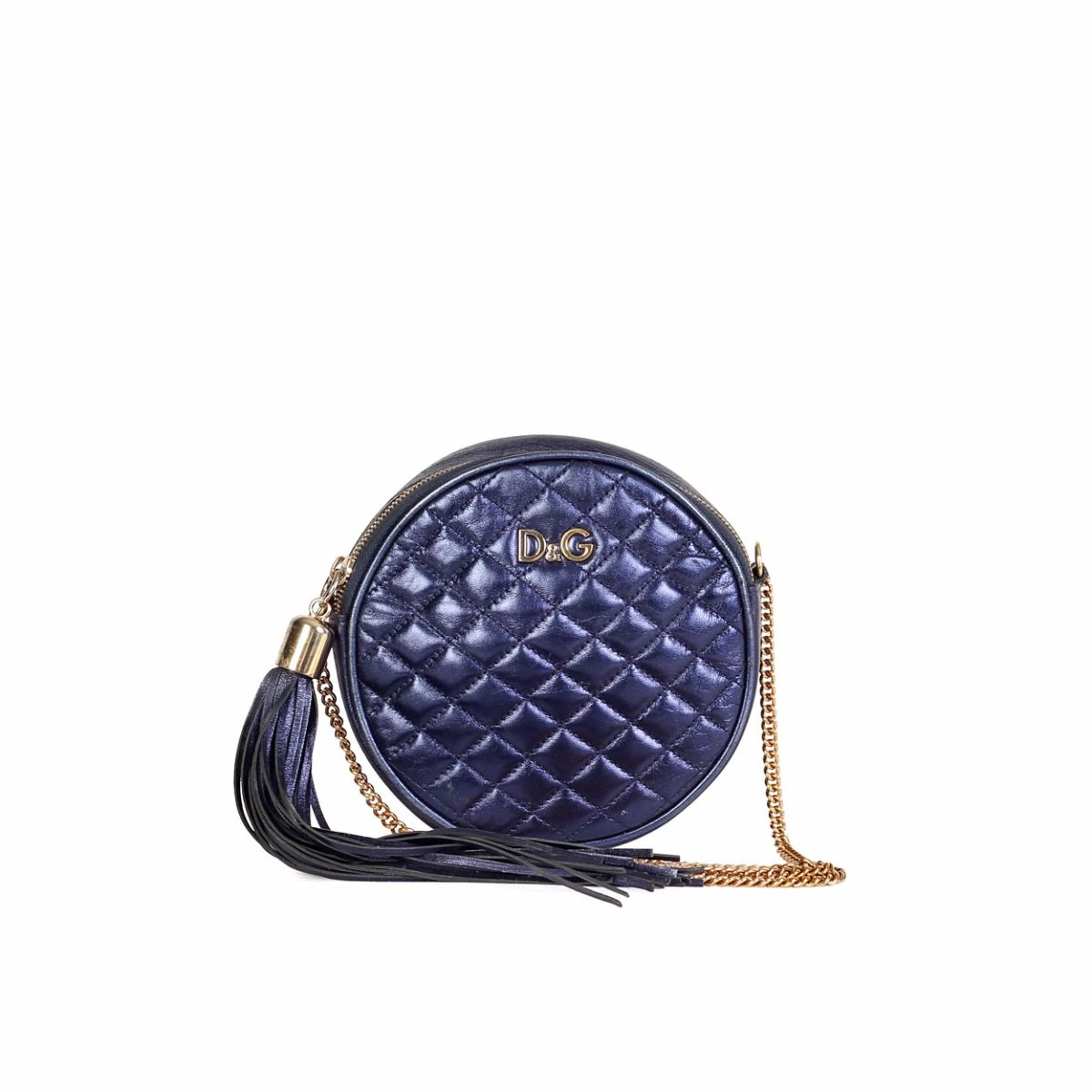 D G Lily Glam Round Quilted Cross-Body bag  c06c01e9f74b3