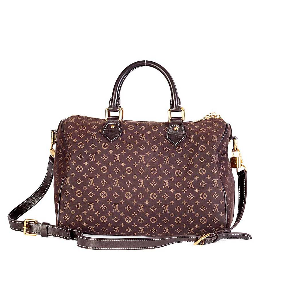 LOUIS VUITTON Monogram Mini Lin Speedy Bandoulière 30  8b72df3a36c6d