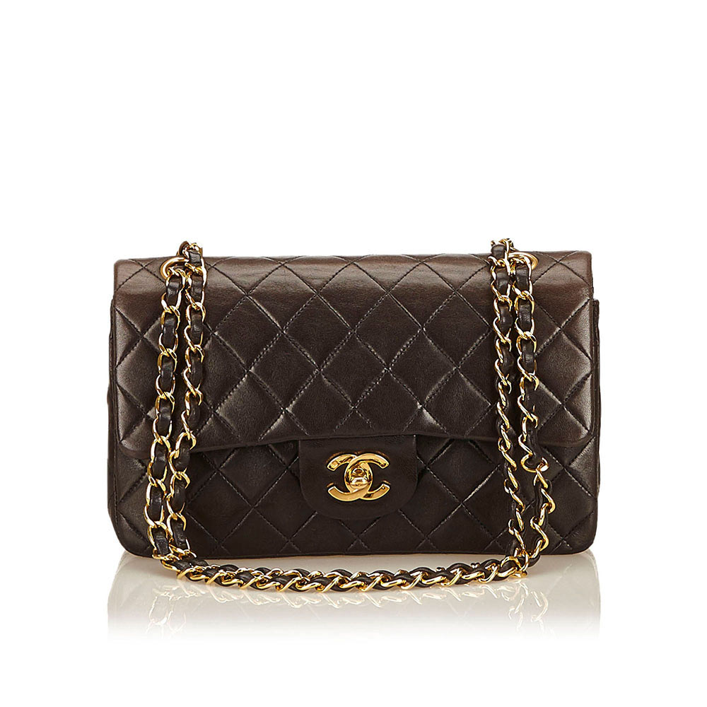 Chanel Small Lambskin Classic Flap Luxity