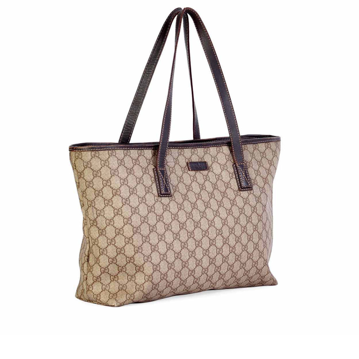 1a31de423153 GUCCI Monogram Top-Zip Tote Bag