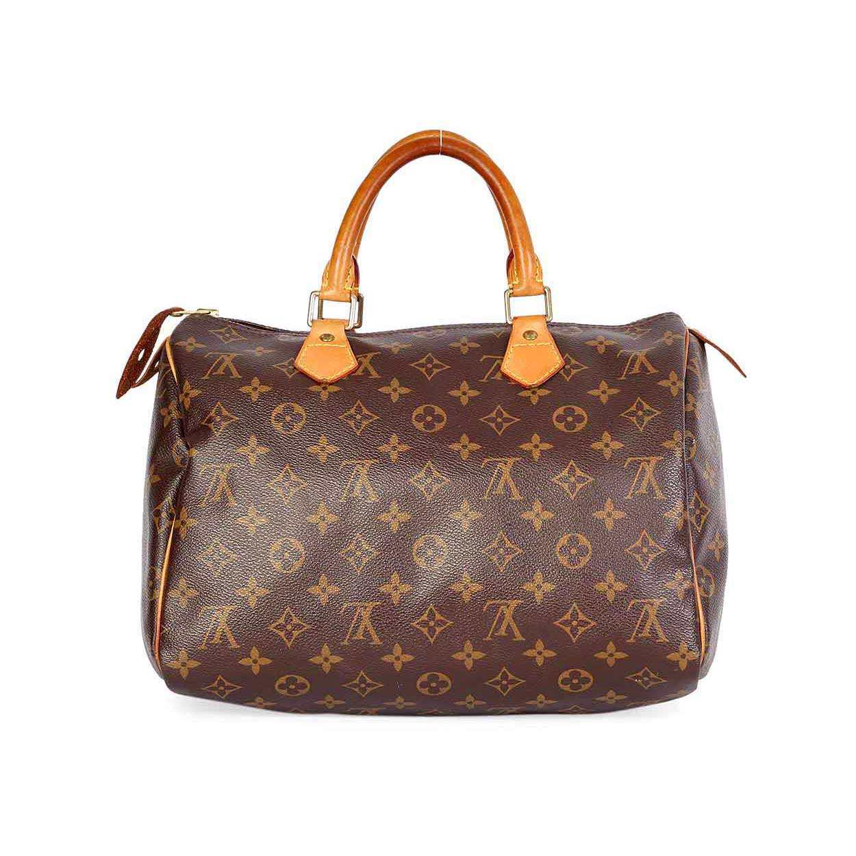 louis vuitton monogram speedy 30 luxity. Black Bedroom Furniture Sets. Home Design Ideas
