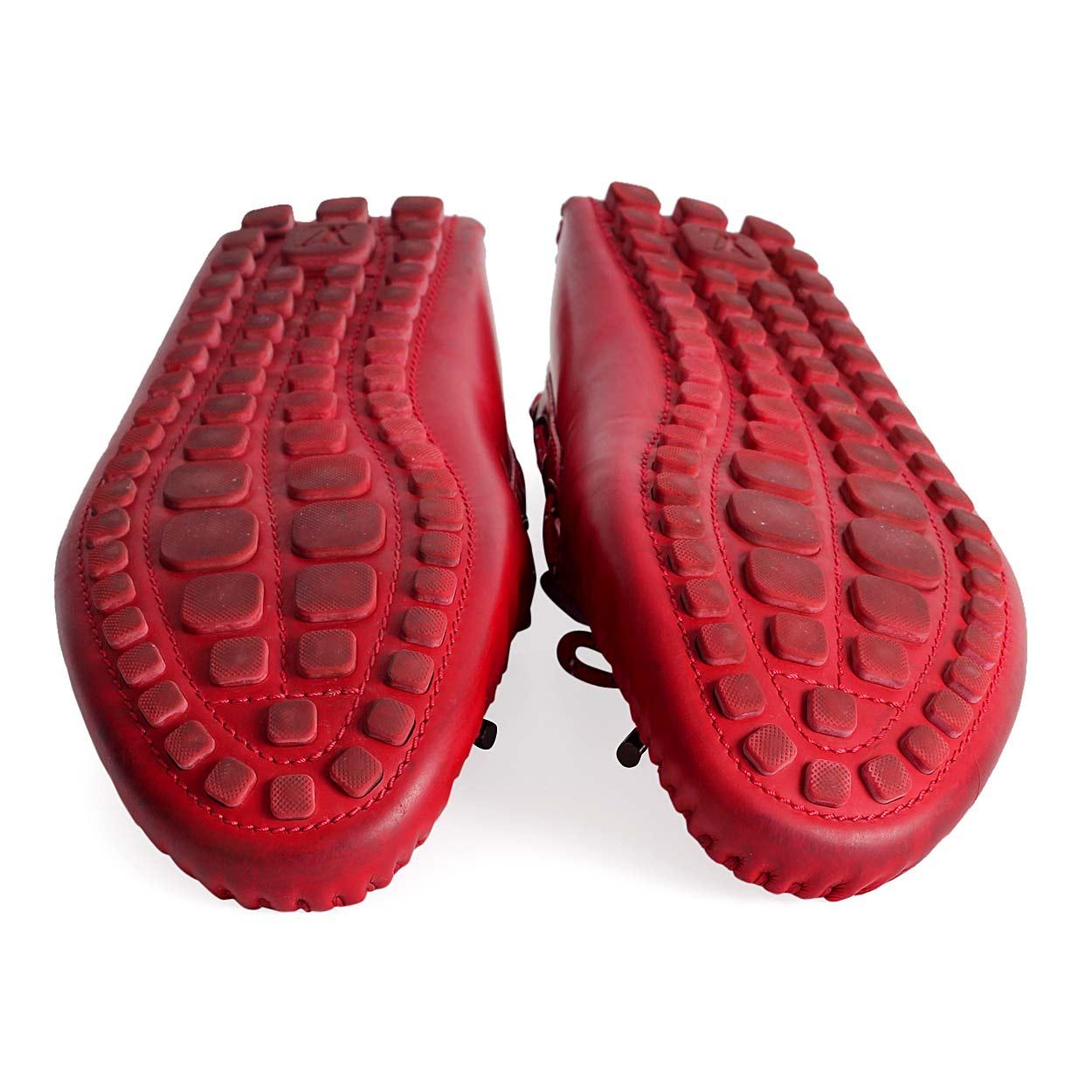 764f06ca9c36 LOUIS VUITTON Arizona Car Shoe red - soles