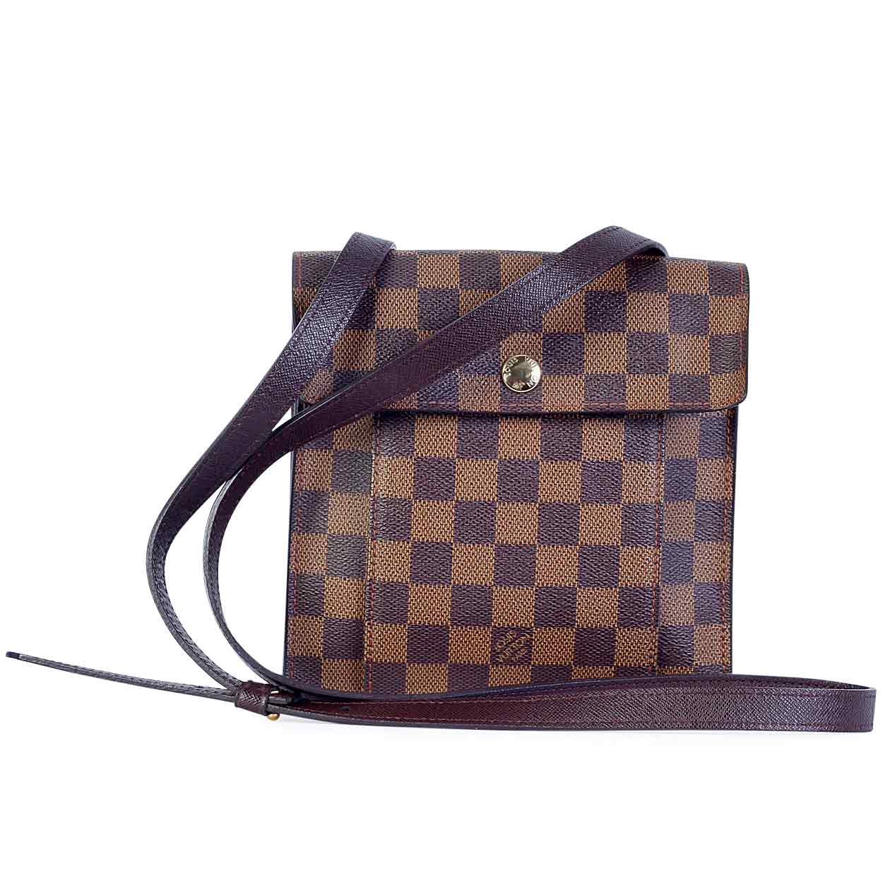 louis vuitton damier ebene pimlico crossbody luxity. Black Bedroom Furniture Sets. Home Design Ideas