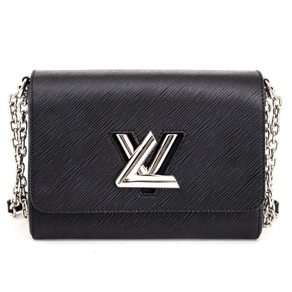 f9a0a7007a4f LOUIS VUITTON Epi Twist MM black - NEW