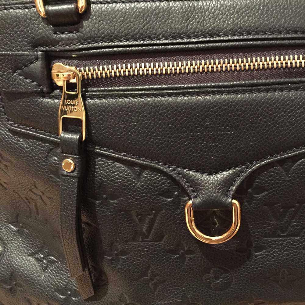 Louis Vuitton Monogram Empreinte Lumineuse Pm Black Noir New Luxity