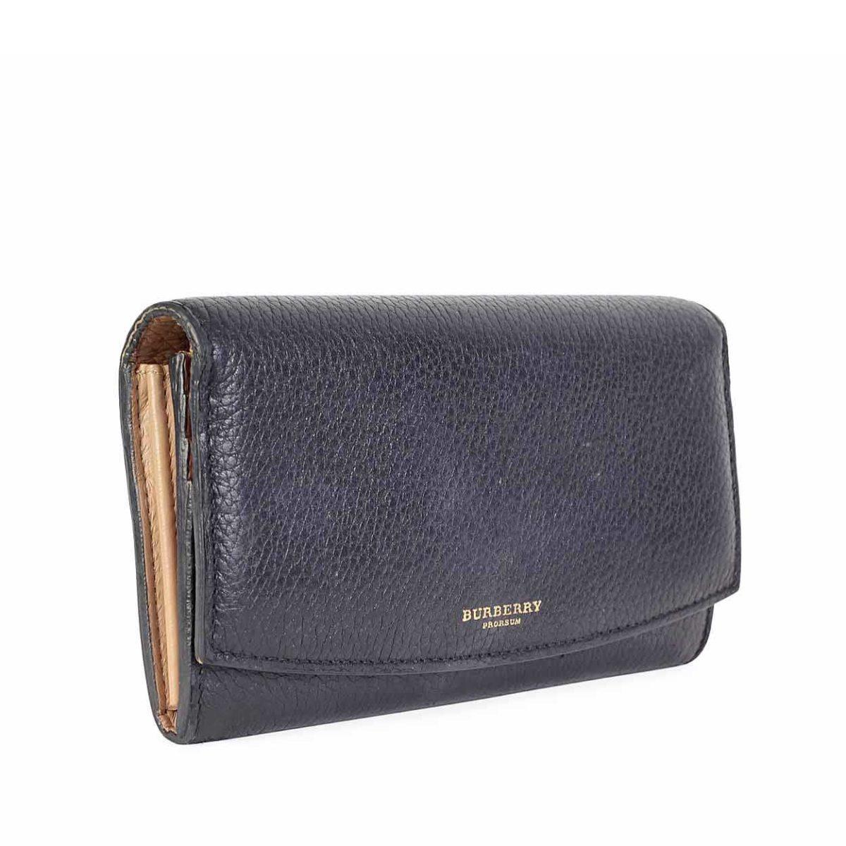 c1d7c1d0045a BURBERRY London Continental Wallet Black | Luxity