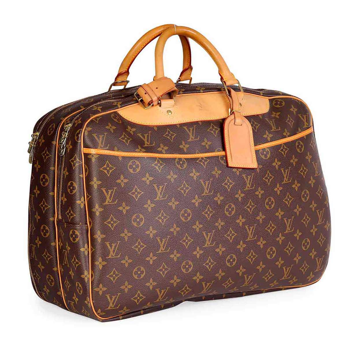 LOUIS-VUITTON-Monogram-Vintage-Alize-2-Poches-Travel-Bag--Angle  7d1a3934762e6