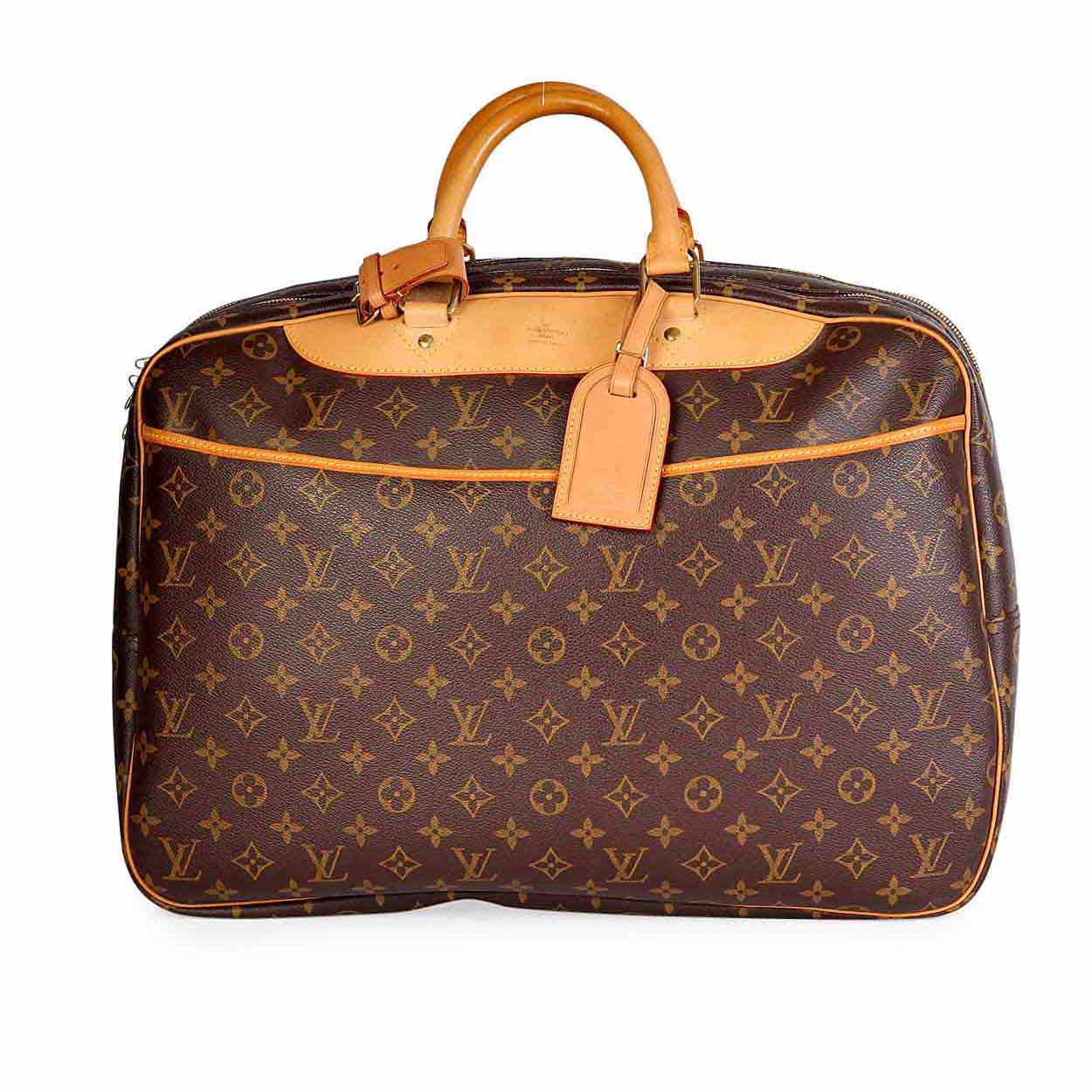 louis vuitton monogram vintage alize 2 poches travel bag luxity. Black Bedroom Furniture Sets. Home Design Ideas