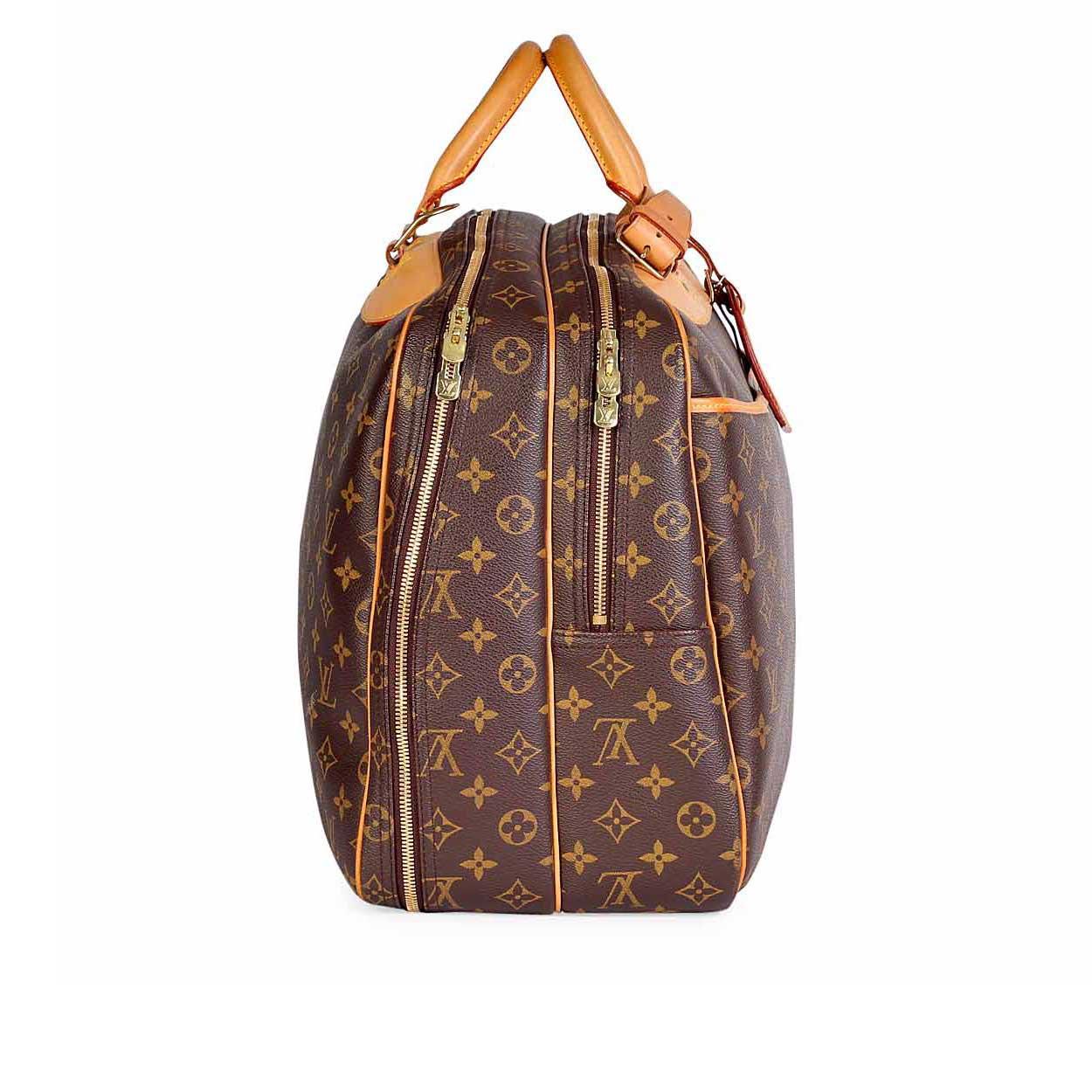 LOUIS-VUITTON-Monogram-Vintage-Alize-2-Poches-Travel-Bag--Side-1 ... ef7cbc57546f7