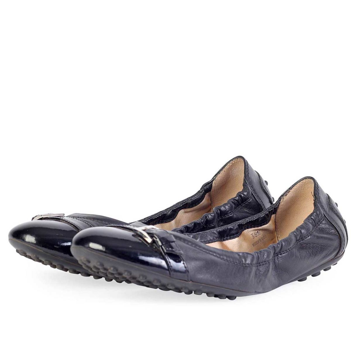 Tod's Patent Leather Ballet Flats Cheap Sale Shop Cheap Sale Comfortable Clearance Low Cost Bs16Y4Scrf