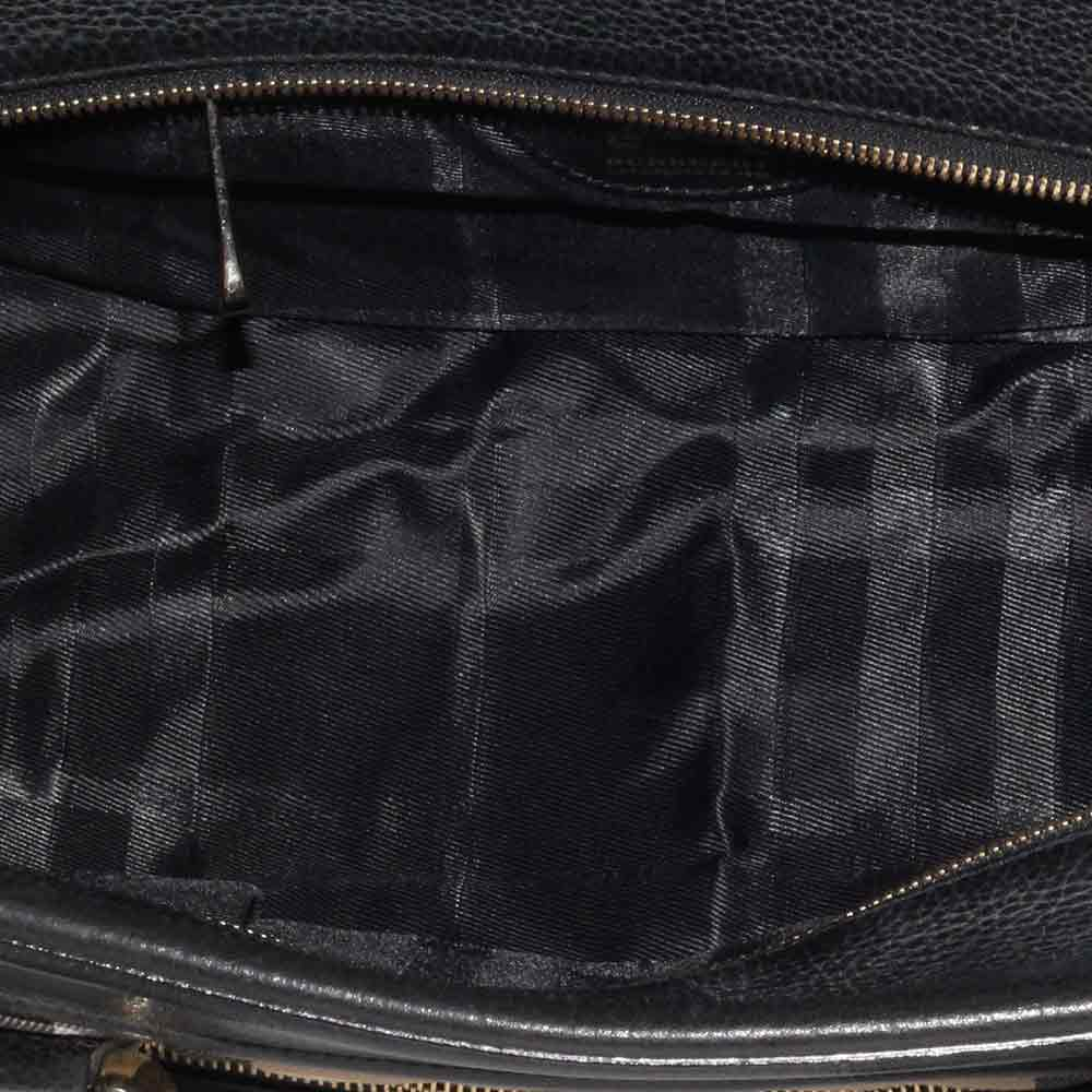 d424d8b74ea5 BURBERRY Nova Check Quilted Canvas Manor Bag Large