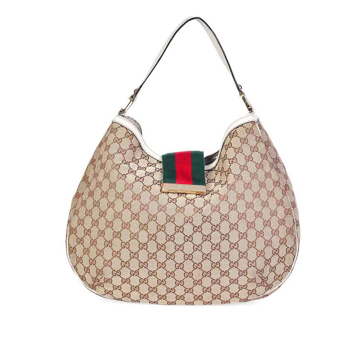 f72091c0d4b6 GUCCI Leather Jackie Original Shoulder Bag Ivory. $ 2,190.00 $ 1,022.00  Select options · Promo!