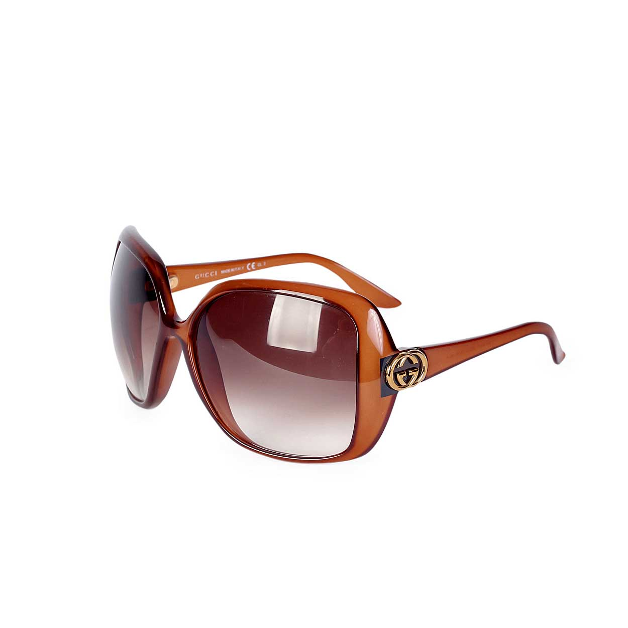 3681b8d2e78 GUCCI Oversized Sunglasses GG3167 Brown
