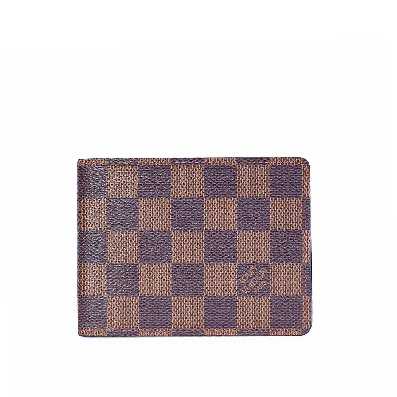 3204a6e80b5 LOUIS VUITTON Damier Ebene Multiple Wallet