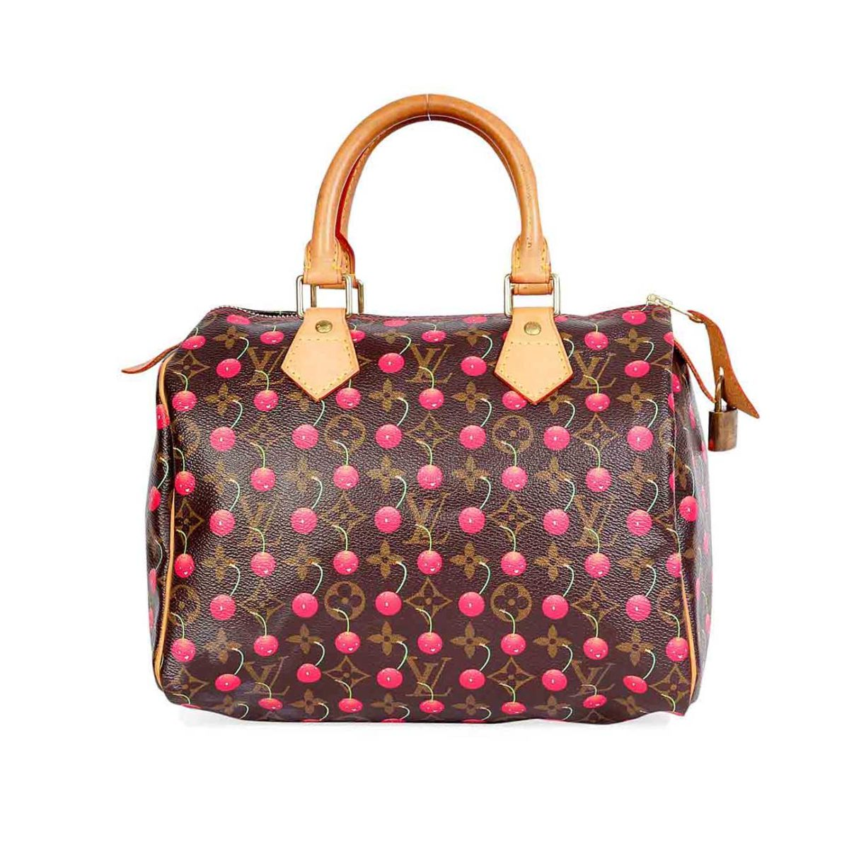 d3c2d0400569cc LOUIS VUITTON Cherry Cerise Speedy 25 | Luxity