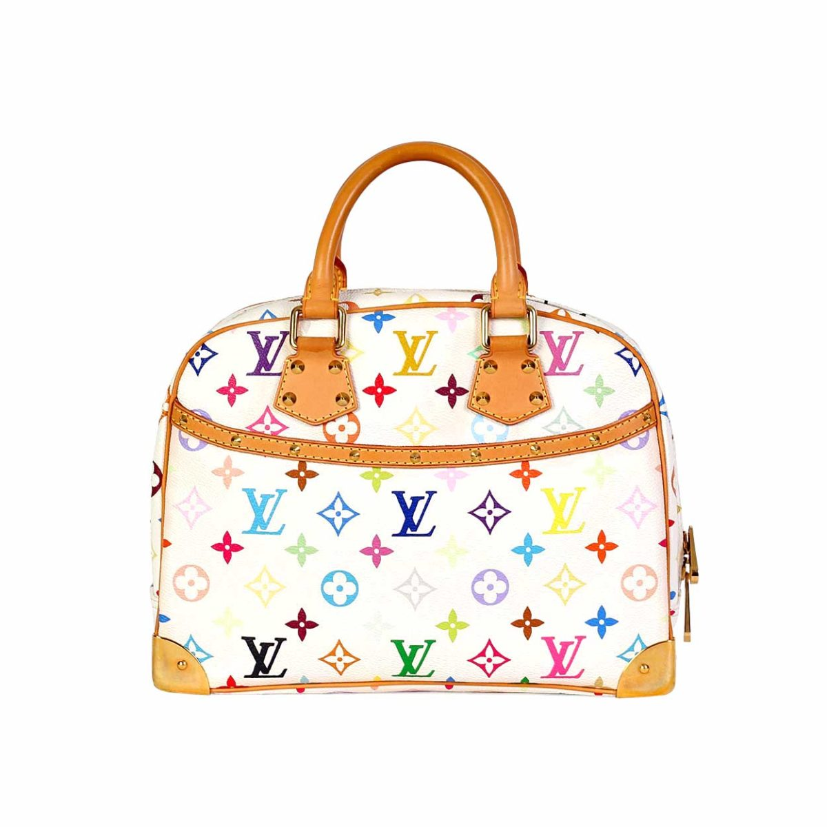 29cd82ee1035 LOUIS VUITTON Multicolor Trouville White Blanc