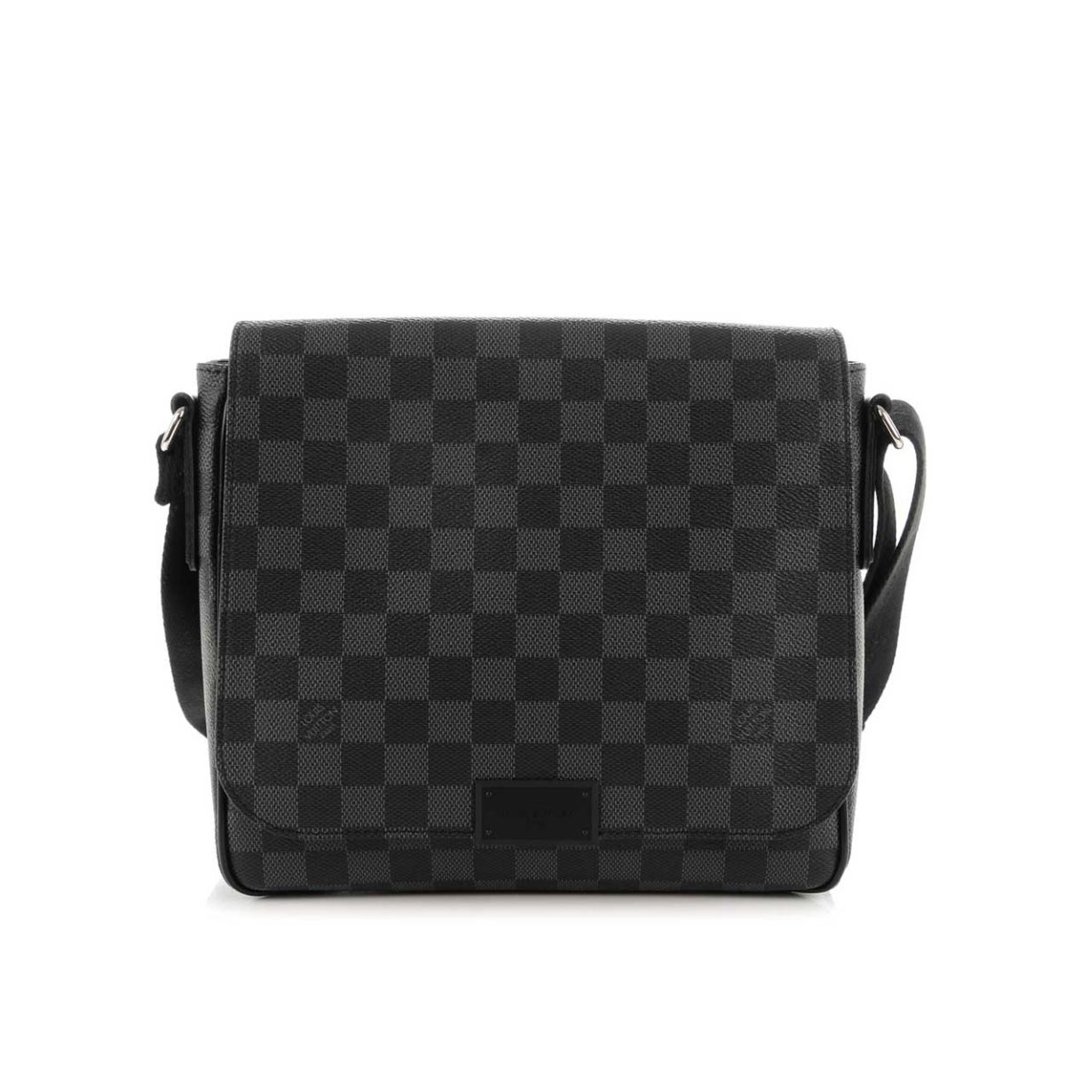 03d15ebb37a2 LOUIS VUITTON Damier Graphite District PM