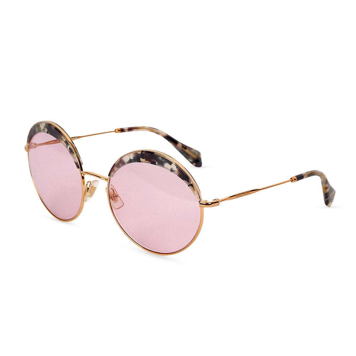 0fcd6203831 MIU MIU Sunglasses SMU 51Q Pink Tint