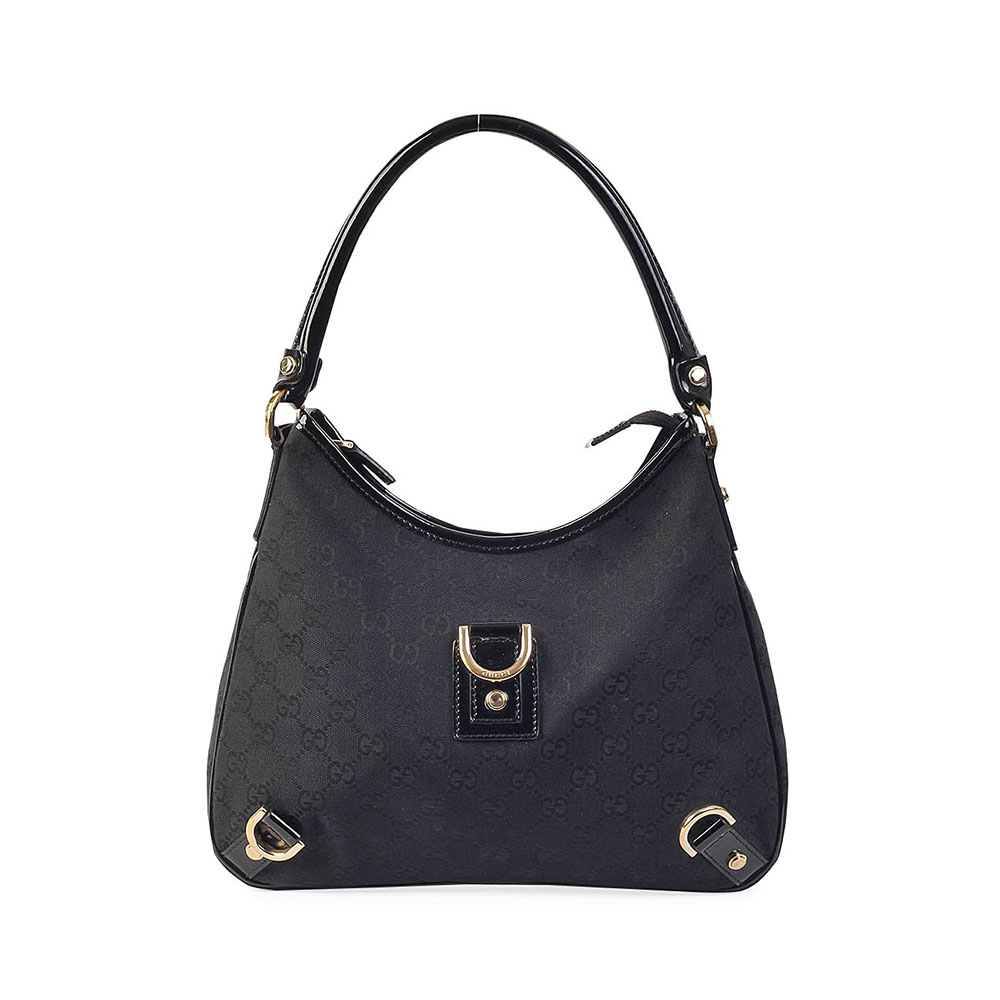 f5757c761 GUCCI GG Abbey D Ring Hobo Black | Luxity