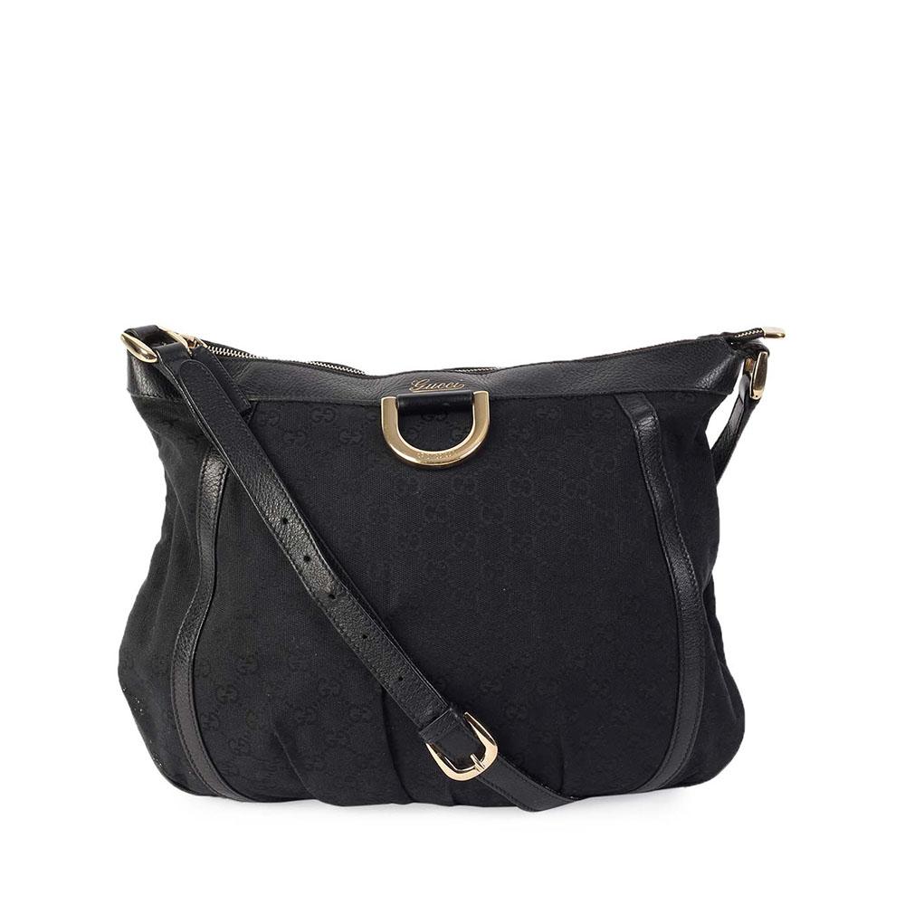 gucci bags black. gucci gg d ring messenger bag black gucci bags