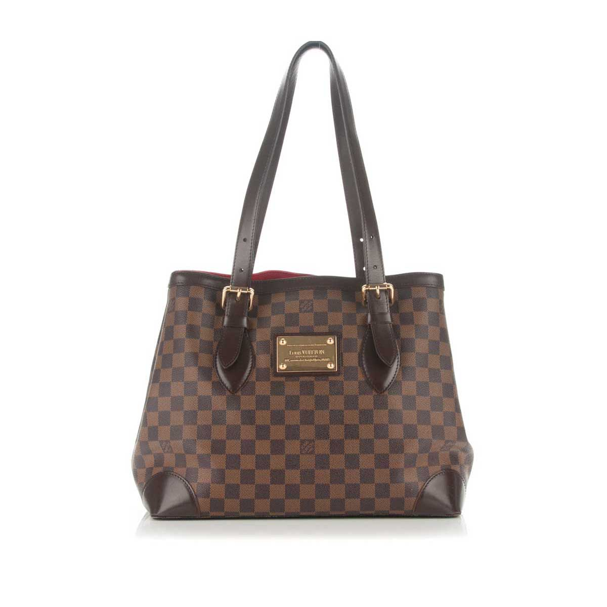 346e729834ce LOUIS VUITTON Damier Ebene Hampstead MM - New