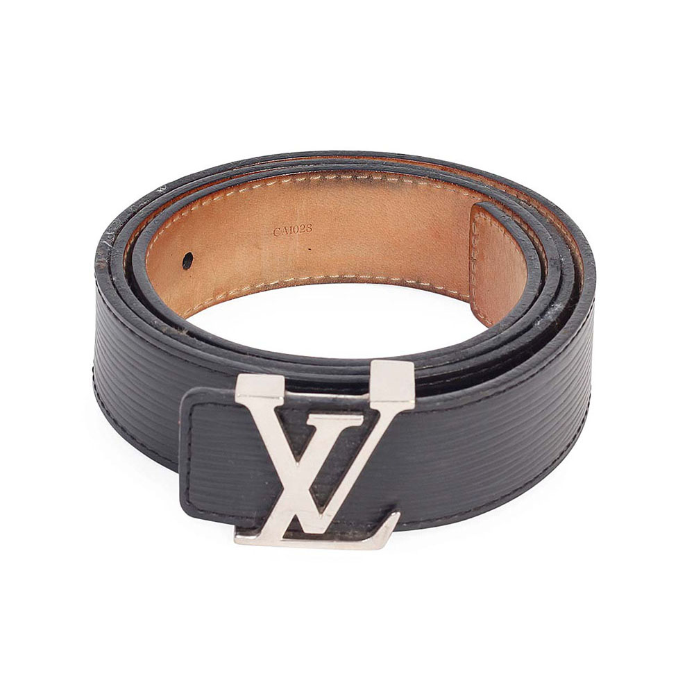 louis vuitton mens belt. louis vuitton epi lv initials 30mm belt noir black louis vuitton mens
