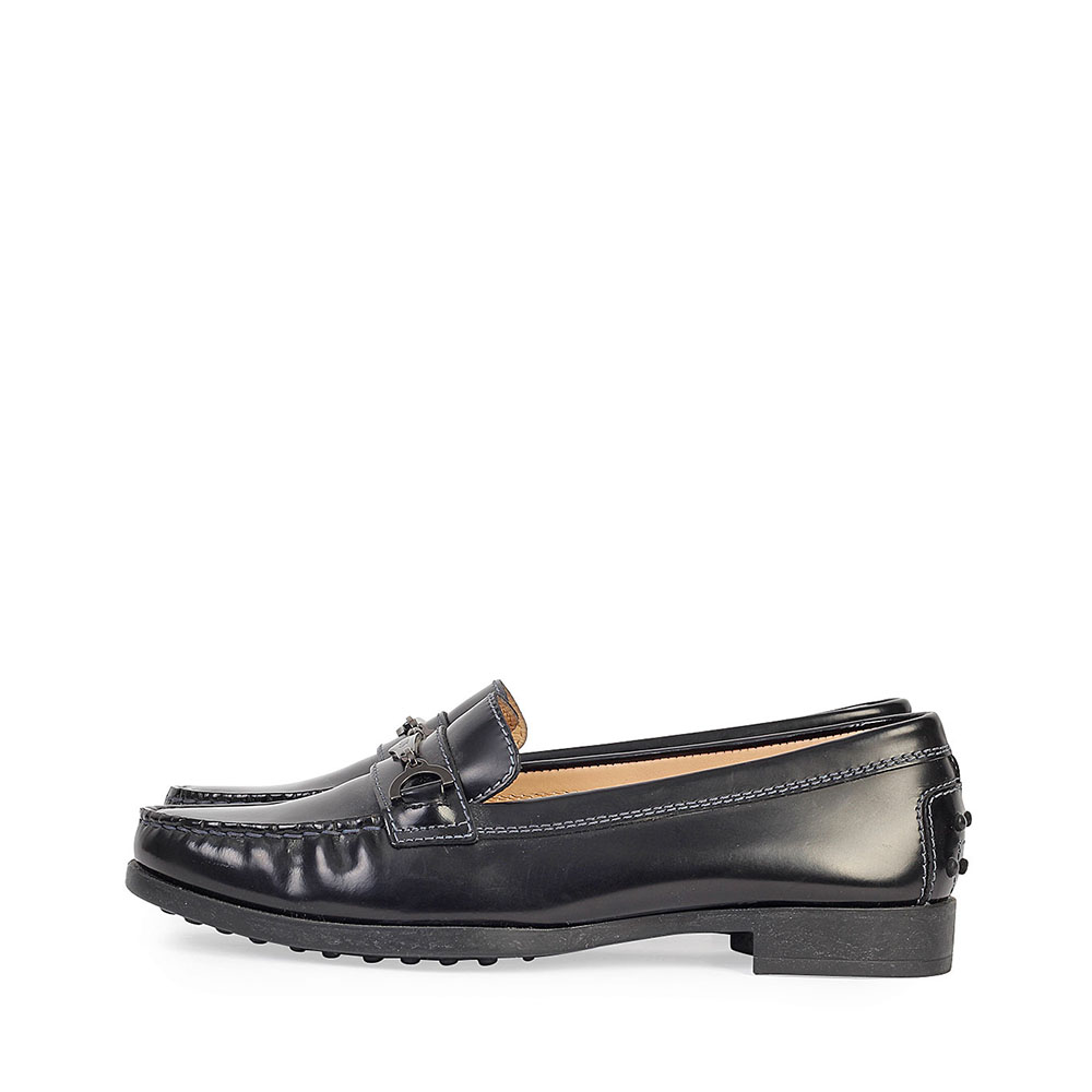 TODS Leather Loafers Black - S: 37 (4)
