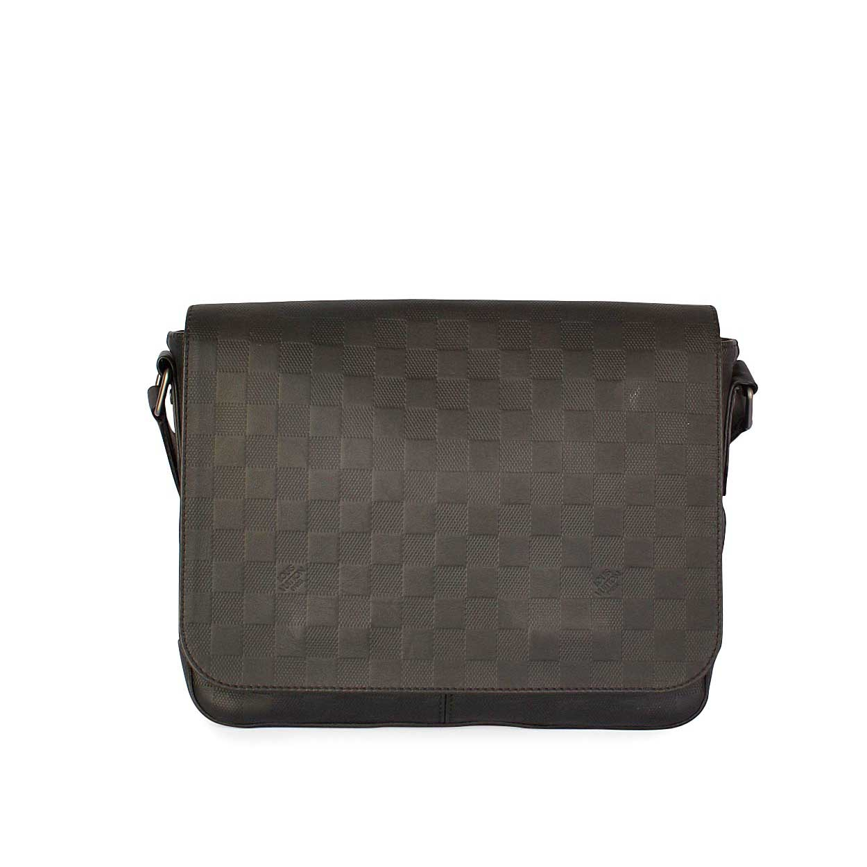 46326d393b9e3 LOUIS VUITTON Damier Infini District MM Messenger Bag