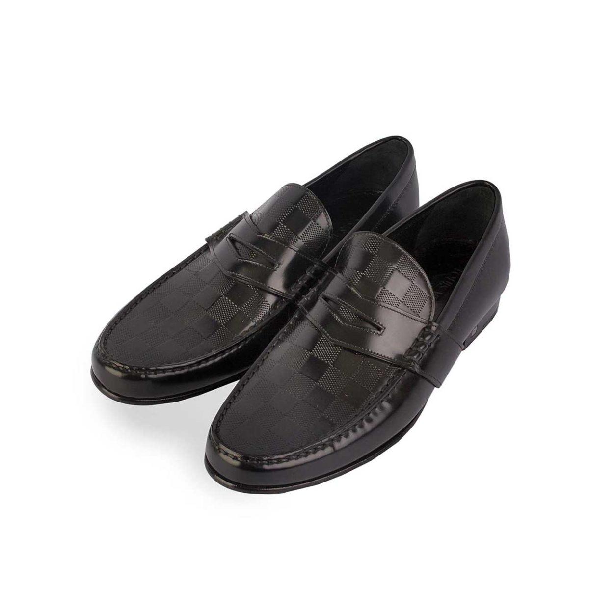 1c48bbf4168 LOUIS VUITTON Men s Graduation Loafers Black - S  42 (8) - NEW