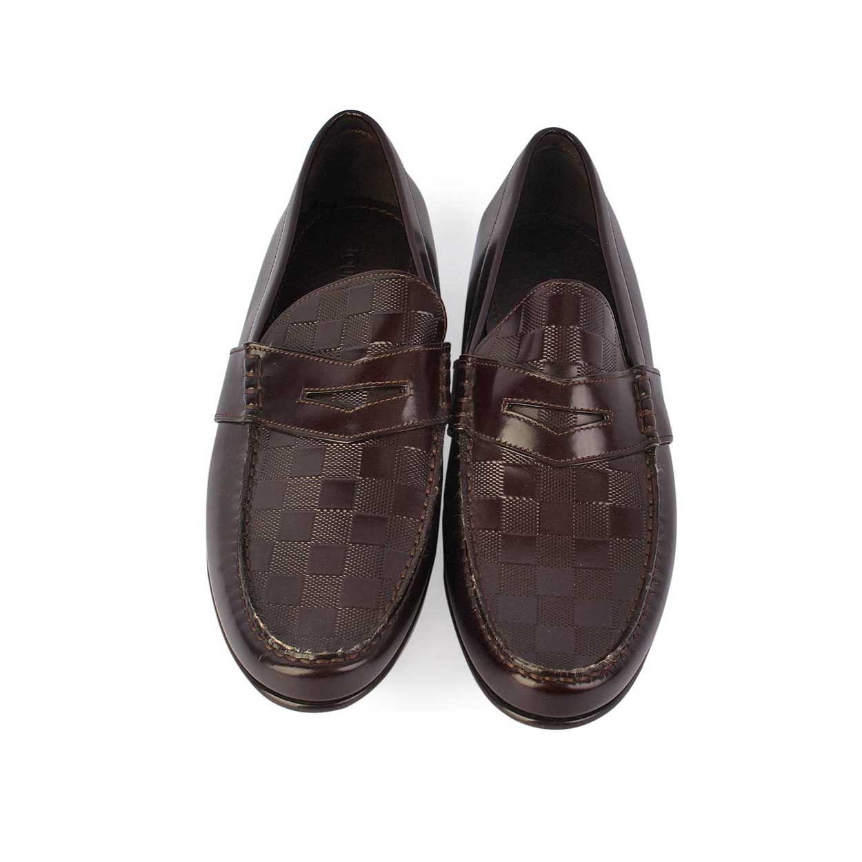 Louis Vuitton Graduation Loafers Brown - S 42 (8) - NEW - Luxity