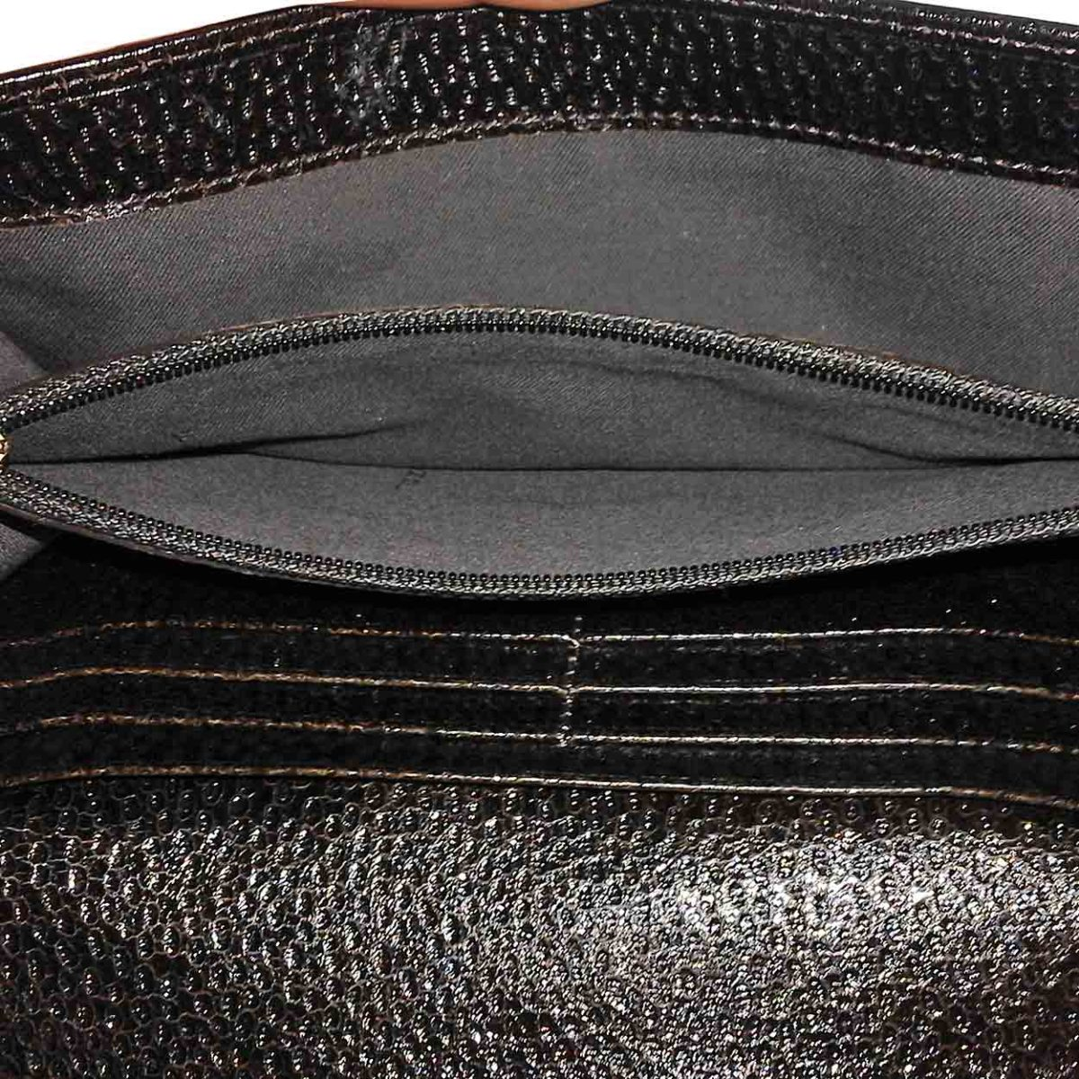 32102e7a CHANEL Caviar Lambskin CC Logo Bifold Long Wallet Black (13 series)