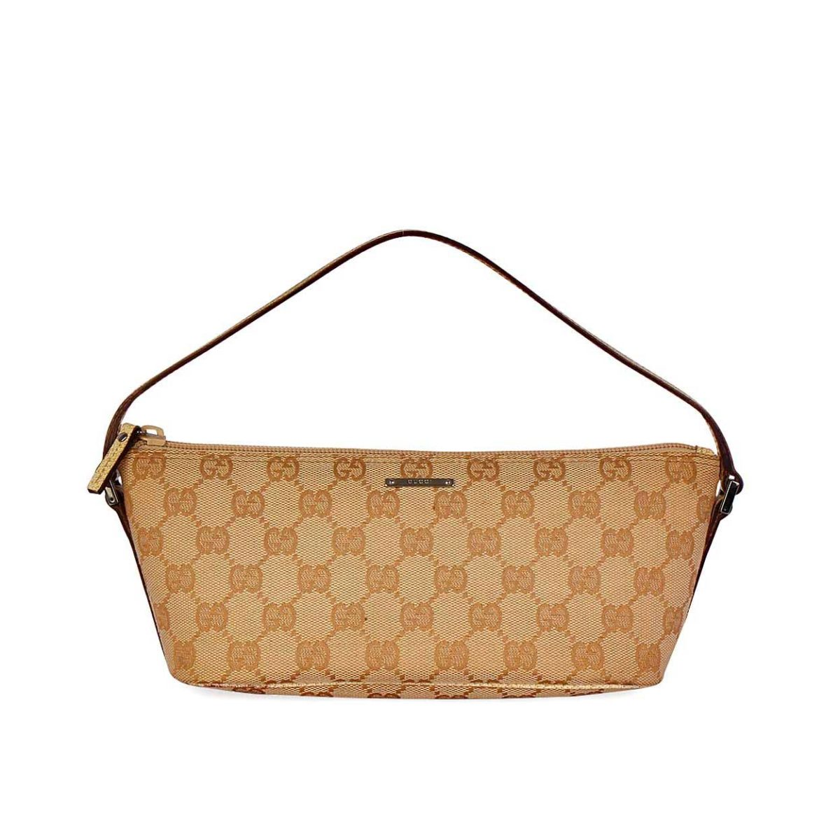 77d2c3f3d89a GUCCI GG Pochette Light Brown | Luxity