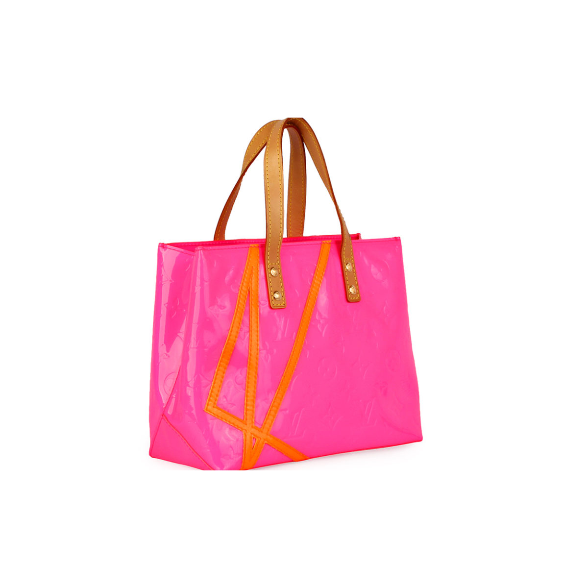 450bfd877f0c LOUIS VUITTON Vernis Reade PM Robert Wilson Bag Pink - Limited ...
