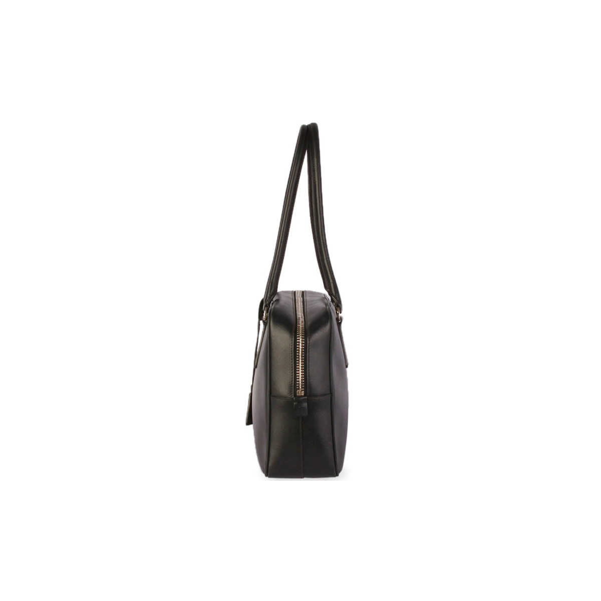 0134374771 PRADA Saffiano Lux Bauletto Bag Black