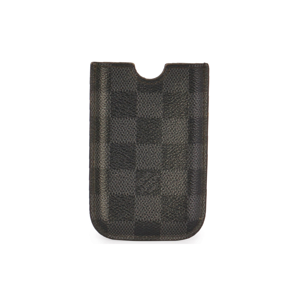 newest c6460 dc620 LOUIS VUITTON Damier Graphite iPhone 5/5S Cover