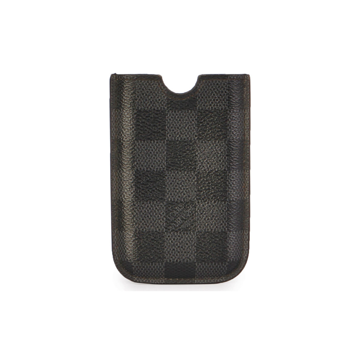 più recente 25fb4 da444 LOUIS VUITTON Damier Graphite iPhone 5/5S Cover